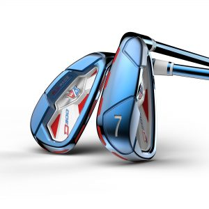 WILSON STAFF LIMITED EDITION PVD D300 IRONS