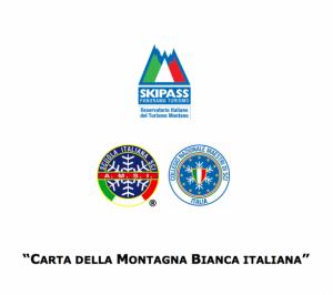 """AMSI E COL.NAZ METTONO LA FIRMA SULLA """"CARTA MONTAGNA BIANCA ITALIANA"""""""