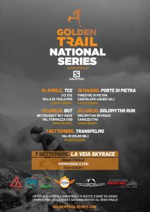 GOLDEN TRAIL NATIONAL SERIES ITALY ENTRA NEL VIVO