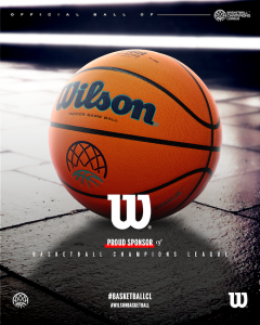 BASKETBALL CHAMPIONS LEAGUE E WILSON SPORTING GOODS ANNUNCIANO LA LORO PARTNERSHIP