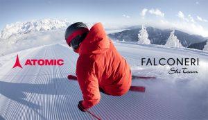 "ATOMIC: SPONSOR TECNICO (ESCLUSIVO) ""FALCONERI SKI TEAM"""