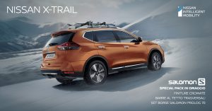 OUTDOOR ADVENTURES? NOI CONSIGLIAMO NISSAN X-TRAIL CON SALOMON SPECIAL PACK