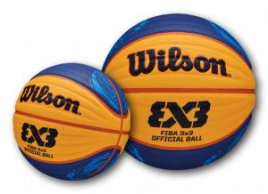 WILSON FIBA 3X3 È PALLONE UFFICIALE FEDERAZIONE ITALIANA PALLACANESTRO CIRCUITO 3X3